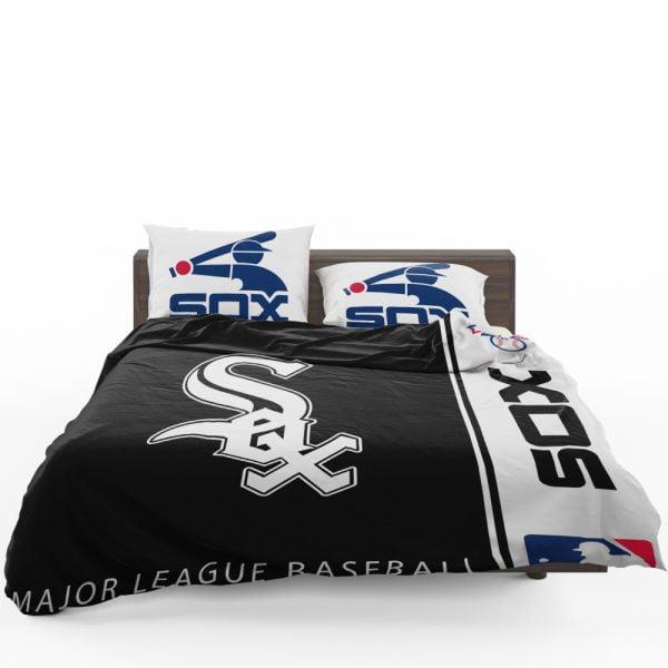 Chicago White Sox MLB Baseball American League Bedding Set 1