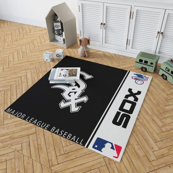 Chicago White Sox MLB Baseball American League Floor Carpet Rug Mat 2