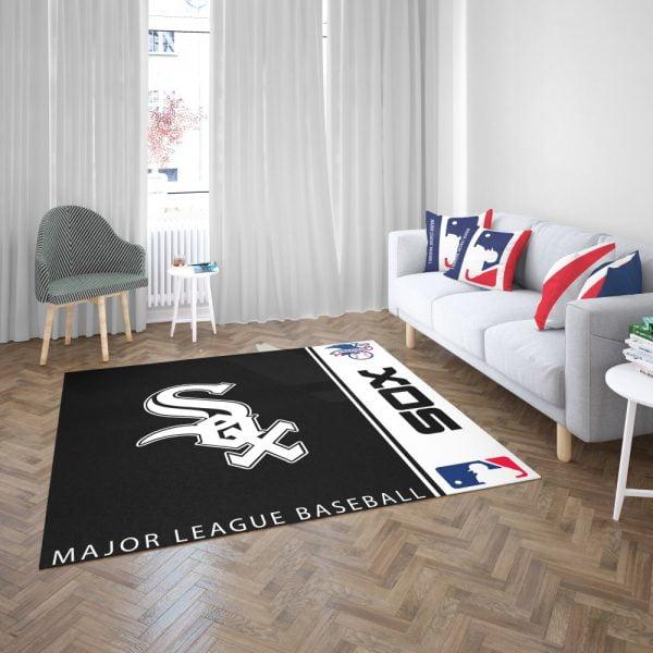 Chicago White Sox MLB Baseball American League Floor Carpet Rug Mat 3