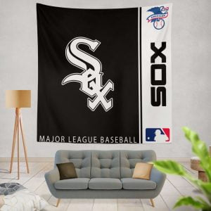 Chicago White Sox MLB Baseball American League Wall Hanging Tapestry