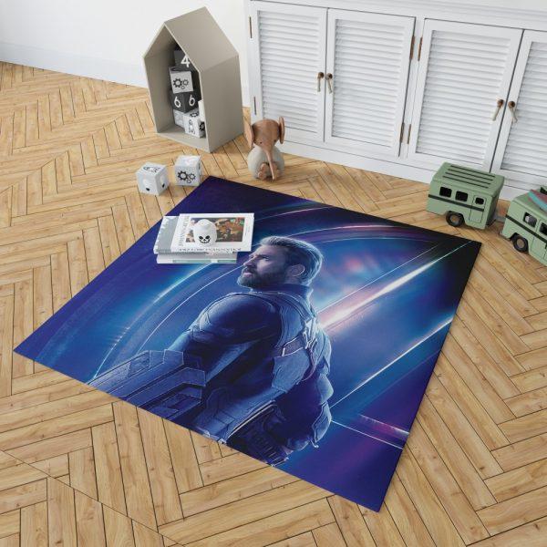 Chris Evans Steve Rogers Captain America Bedroom Living Room Floor Carpet Rug 2