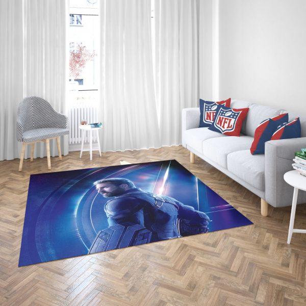 Chris Evans Steve Rogers Captain America Bedroom Living Room Floor Carpet Rug 3