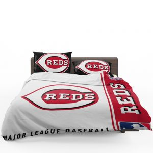 Cincinnati Reds MLB Baseball National League Bedding Set 1