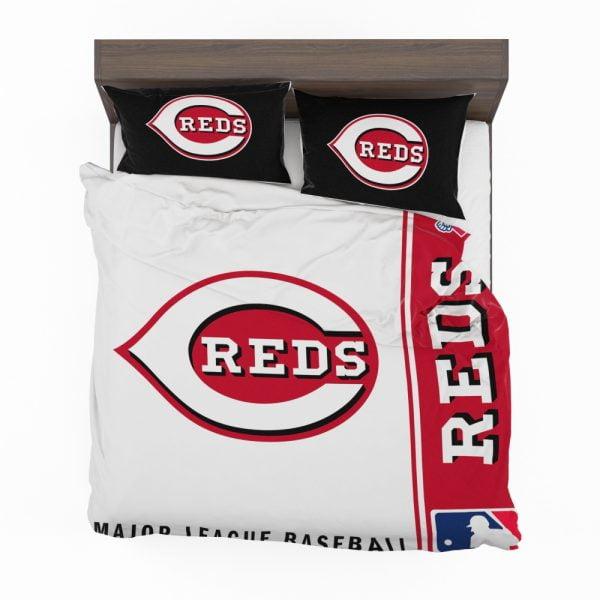 Cincinnati Reds MLB Baseball National League Bedding Set 2