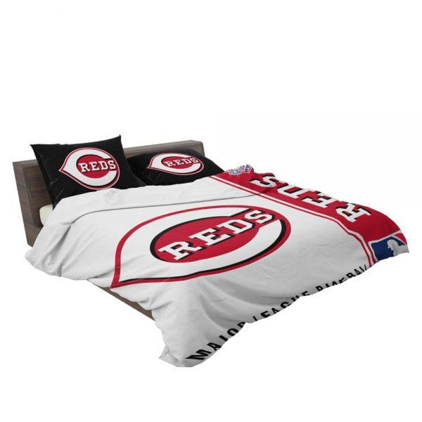 Cincinnati Reds MLB Baseball National League Bedding Set 3