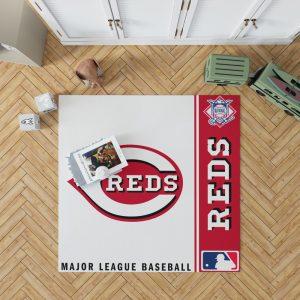 Cincinnati Reds MLB Baseball National League Floor Carpet Rug Mat 1
