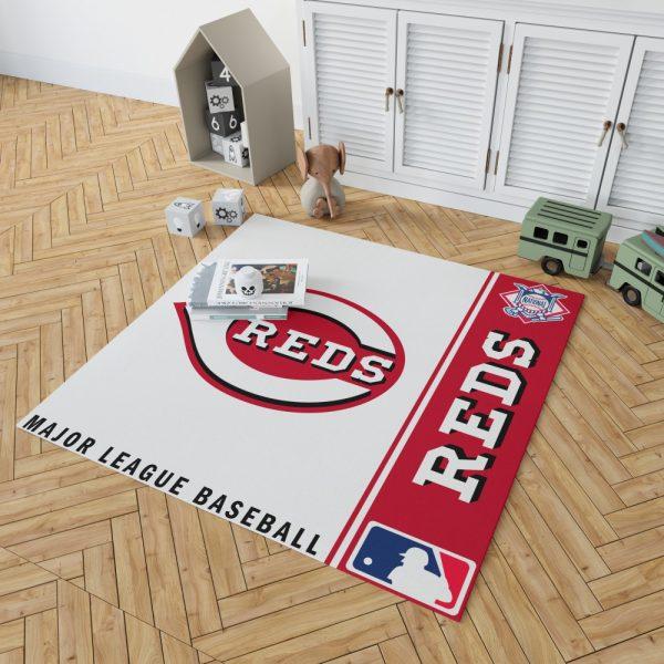 Cincinnati Reds MLB Baseball National League Floor Carpet Rug Mat 2