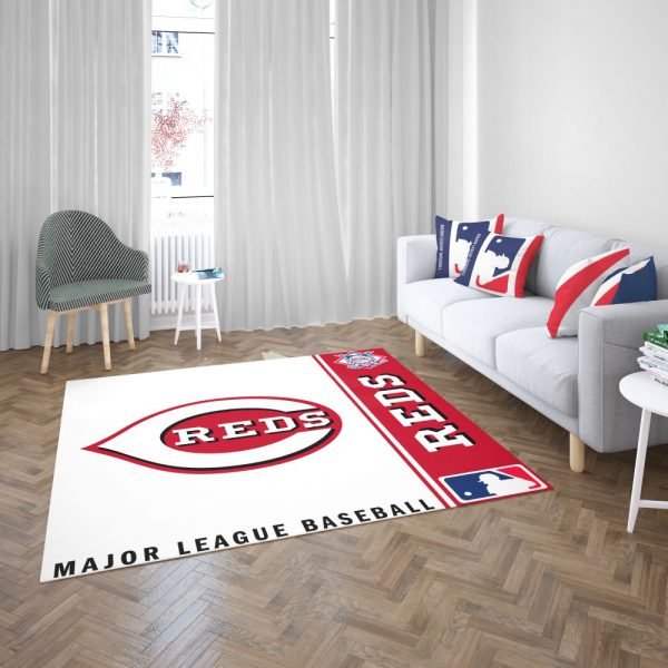 Cincinnati Reds MLB Baseball National League Floor Carpet Rug Mat 3