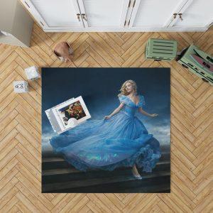 Cinderella Movie Lily James Bedroom Living Room Floor Carpet Rug 1