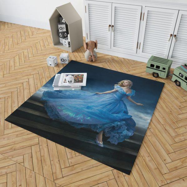 Cinderella Movie Lily James Bedroom Living Room Floor Carpet Rug 2