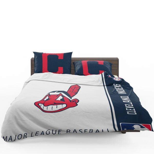 Cleveland Indians MLB Baseball American League Bedding Set 1