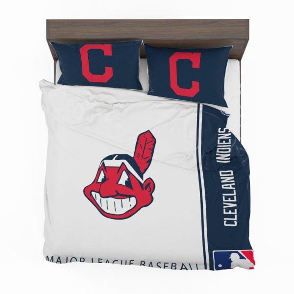 Cleveland Indians MLB Baseball American League Bedding Set 2