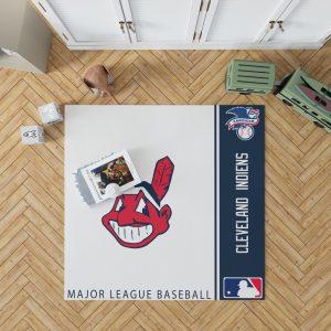 Cleveland Indians MLB Baseball American League Floor Carpet Rug Mat 1