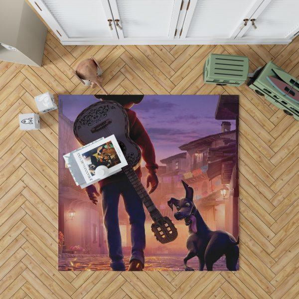 Coco Movie Dante Guitar Miguel Rivera Bedroom Living Room Floor Carpet Rug 1