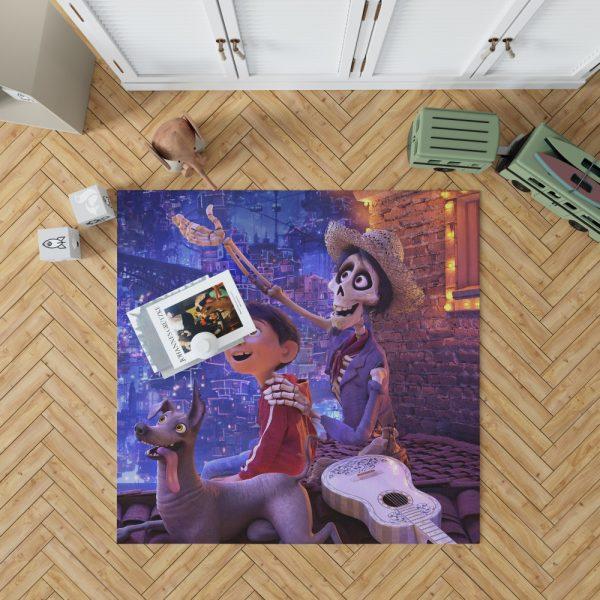 Coco Movie Dante Hector Miguel Rivera Bedroom Living Room Floor Carpet Rug 1