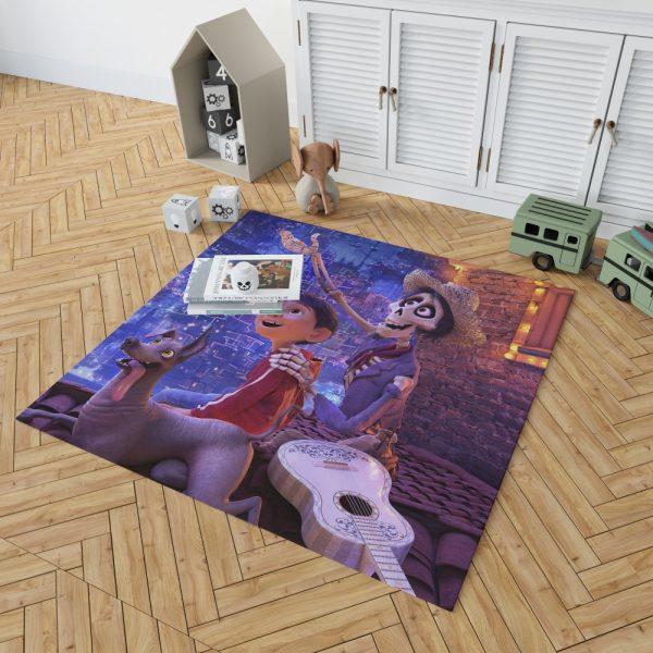Coco Movie Dante Hector Miguel Rivera Bedroom Living Room Floor Carpet Rug 2