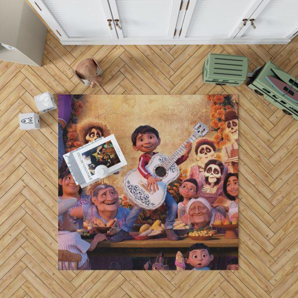 Coco Movie Fantasy Bedroom Living Room Floor Carpet Rug 1