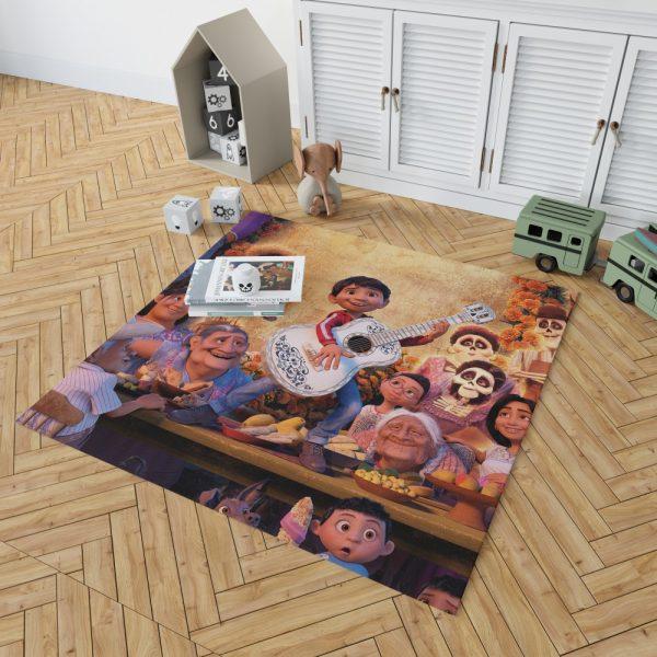 Coco Movie Fantasy Bedroom Living Room Floor Carpet Rug 2