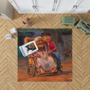 Coco Movie Mystery Kids Bedroom Living Room Floor Carpet Rug 1