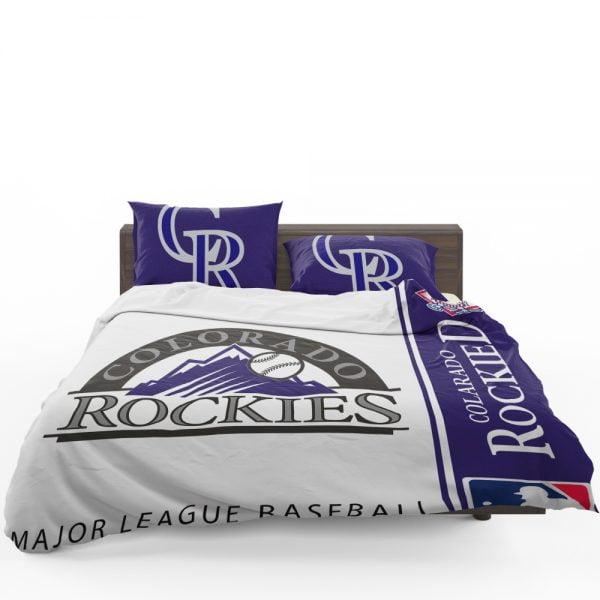 Colorado Rockies MLB Baseball National League Bedding Set 1