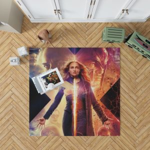 Dark Phoenix Movie Sophie Turner X-Men Bedroom Living Room Floor Carpet Rug 1