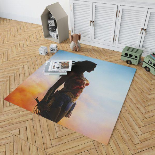Dc Comics Wonder Woman Movie Bedroom Living Room Floor Carpet Rug 2