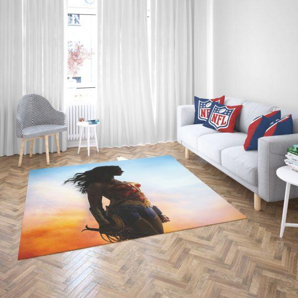 Dc Comics Wonder Woman Movie Bedroom Living Room Floor Carpet Rug 3