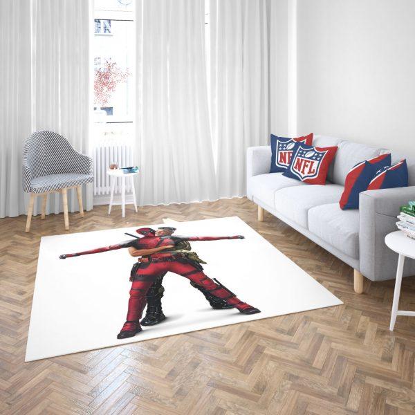 Deadpool 2 Josh Brolin Cable Bedroom Living Room Floor Carpet Rug 3