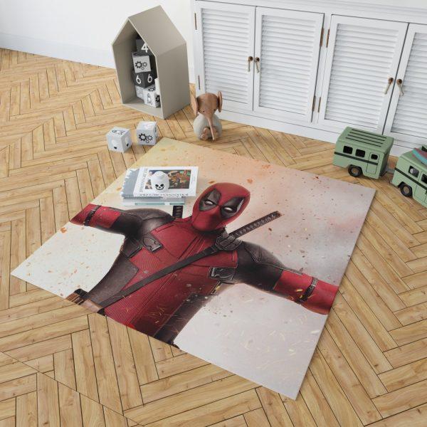 Deadpool 2 Movie Bedroom Living Room Floor Carpet Rug 2