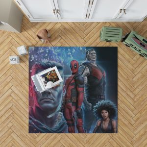 Deadpool 2 Movie Cable Domino Bedroom Living Room Floor Carpet Rug 1