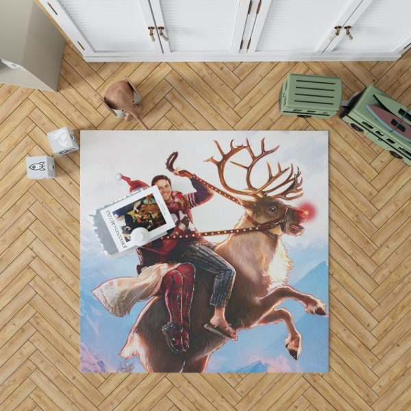 Deadpool 2 Movie Once Upon A Deadpool Bedroom Living Room Floor Carpet Rug 1