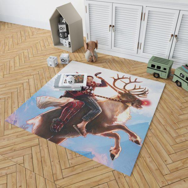 Deadpool 2 Movie Once Upon A Deadpool Bedroom Living Room Floor Carpet Rug 2