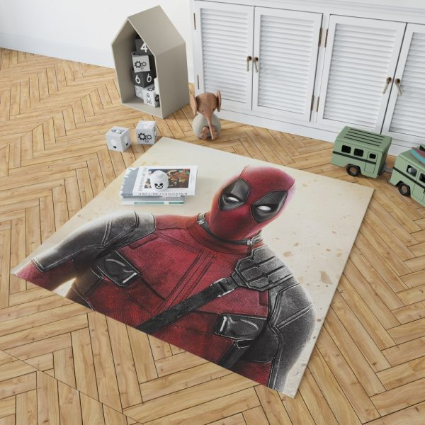 Deadpool 2 Movie Super Hero Bedroom Living Room Floor Carpet Rug 2