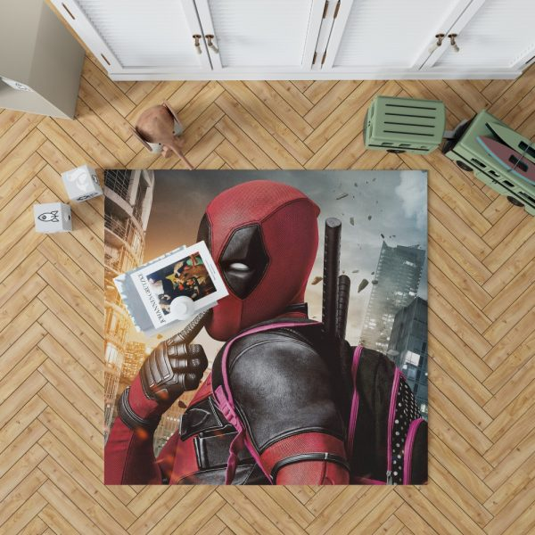 Deadpool Movie Bedroom Living Room Floor Carpet Rug 1