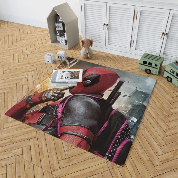 Deadpool Movie Bedroom Living Room Floor Carpet Rug 2