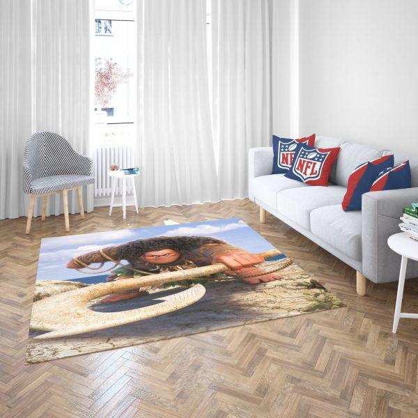 Demigod Maui Moana Disney Movie Bedroom Living Room Floor Carpet Rug 3
