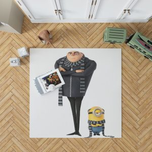 Despicable Me 3 Movie Gru Stuart Bedroom Living Room Floor Carpet Rug 1