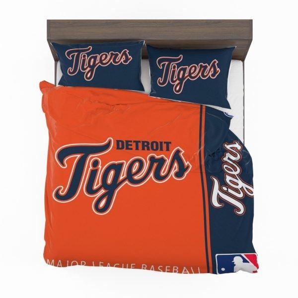 Detroit Tigers MLB Baseball American League Bedding Set 2