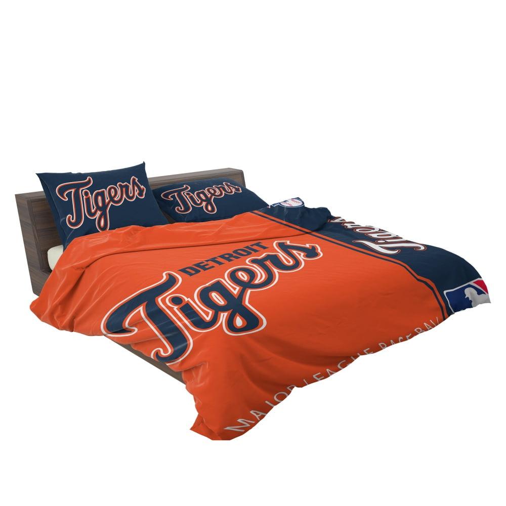 Detroit Tigers Mlb Baseball American League Bedding Set Ebeddingsets
