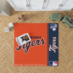 Detroit Tigers MLB Baseball American League Floor Carpet Rug Mat 1