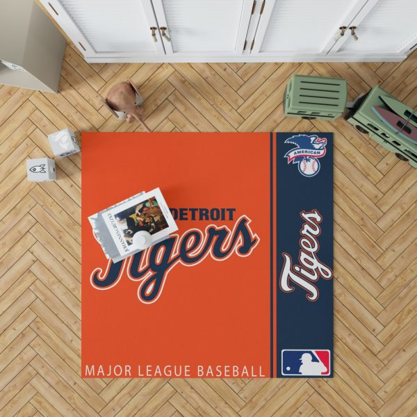 Detroit Tigers MLB Baseball American League Floor Carpet Rug Mat 1
