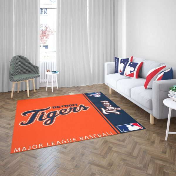 Detroit Tigers MLB Baseball American League Floor Carpet Rug Mat 3