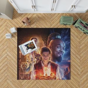 Disney Aladdin Movie Will Smith Mena Massoud Naomi Scott Bedroom Living Room Floor Carpet Rug 1