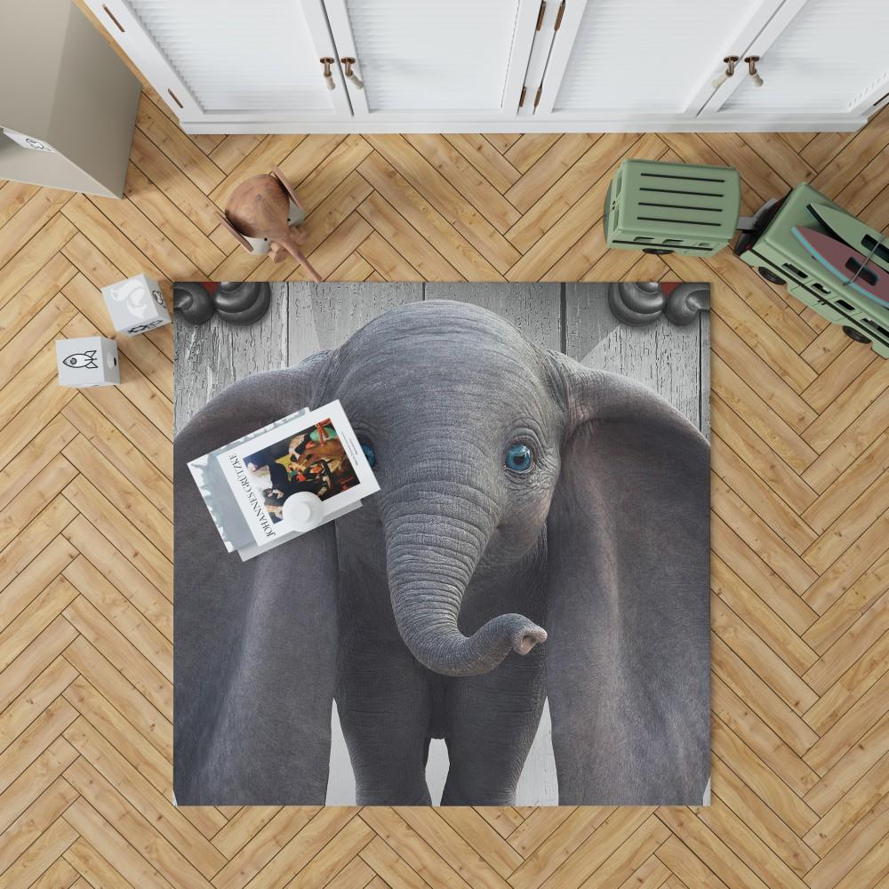 Disney Dumbo Movie Bedroom Living Room Floor