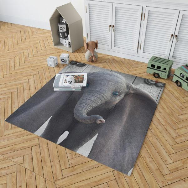 Disney Kids Dumbo 2019 Movie Bedroom Living Room Floor Carpet Rug 2