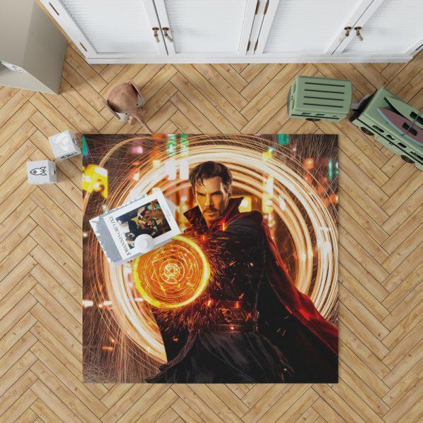 Doctor Strange Movie Benedict Cumberbatch Bedroom Living Room Floor Carpet Rug 1