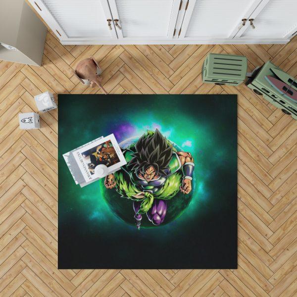 Dragon Ball Super Broly Movie Bedroom Living Room Floor Carpet Rug 1