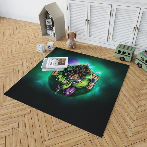 Dragon Ball Super Broly Movie Bedroom Living Room Floor Carpet Rug 2