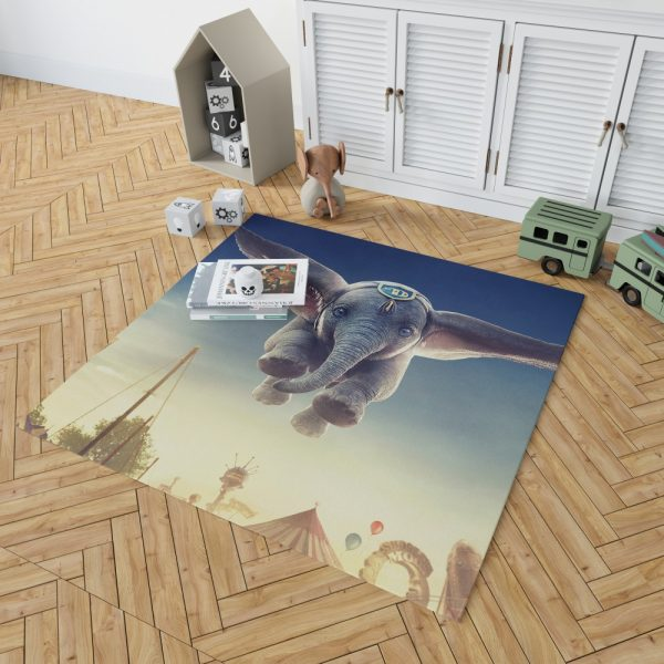 Dumbo 2019 Movie Bedroom Living Room Floor Carpet Rug 2