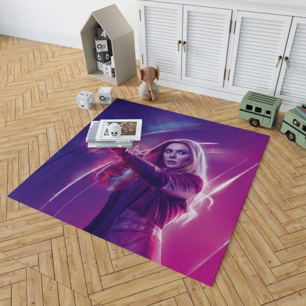 Elizabeth Olsen Wanda Maximoff Avengers Bedroom Living Room Floor Carpet Rug 2